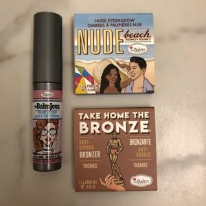 Bundle of 3 The Balm Cosmetic Trial/Travel Size